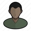 avatar, boy, man, profile, sweater, tshirt, user icon