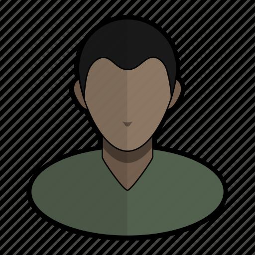 avatar, boy, man, profile, sweater, tshirt, user icon