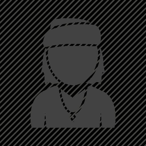 bandana, boy, cap, in icon