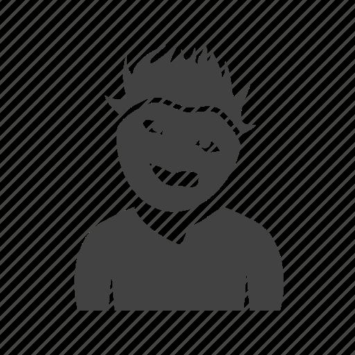 expression, in, man, weird icon