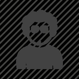 boy, cool, in, shades icon