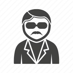 cool, guy, in, sunglasses icon