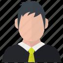 avatar, businessman, man, user