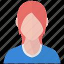 avatar, girl, woman, user