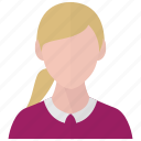 avatar, girl, user, profile