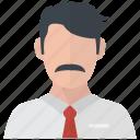 avatar, businessman, man, account