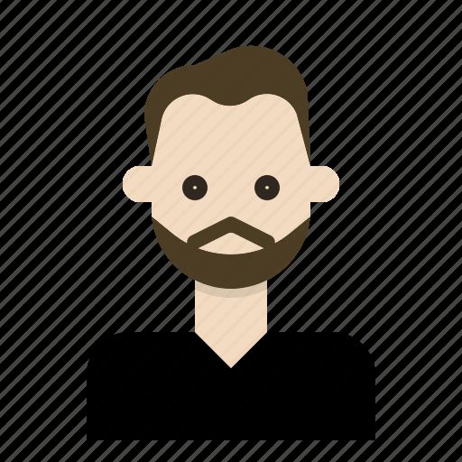 beard, hipster, man, mustache, style icon