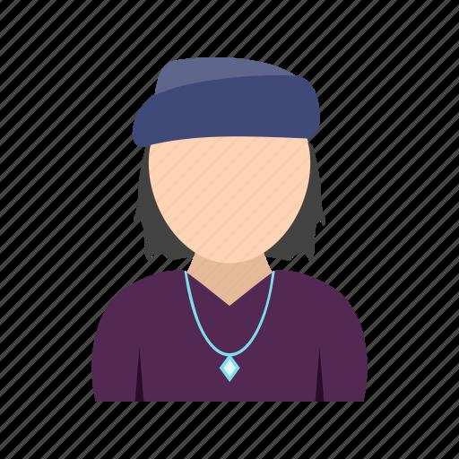 bandana, boy, chain, in icon