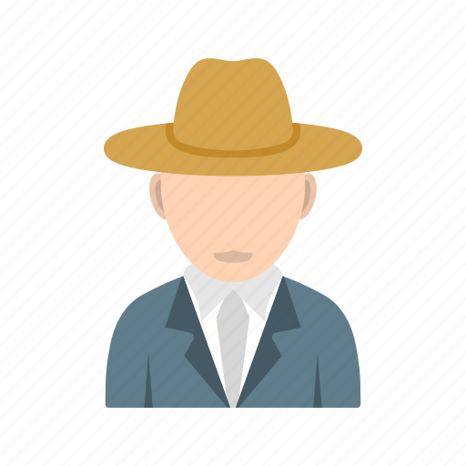 boy, casual, hat, in icon