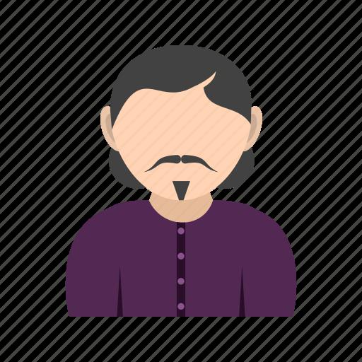 goatee, in, man, mustache icon