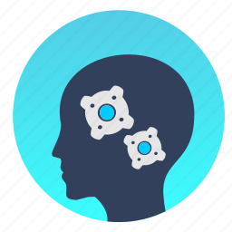avatar, head, man, mind, think icon
