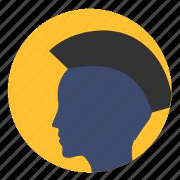avatar, head, man, punk, style icon