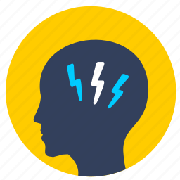avatar, head, man, shock, wow icon