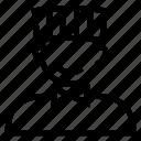 avatar, boy, chef, male, man, person, user icon