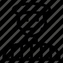 avatar, boy, male, man, person, servant, user icon