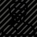 avatar, boy, male, man, person, thief, user icon
