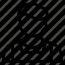 avatar, boy, male, man, person, user, waiter icon
