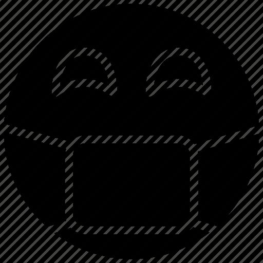 emotag, emoticon, face mask, face mask emoji, sick emoji icon