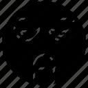 emotag, emoticon, funny emoji, puking emoji, smiley, tongue out emoji icon