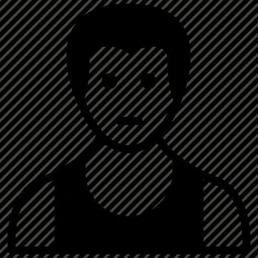 athlete, male, man, person, sportsman icon