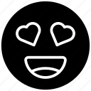 emotag, emoticon, feeling loved, love expression, loved emoji, smiley icon