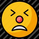 emoji, emotag, emoticon, sad emoji, upset emoji icon