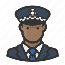 cop, man, police, scotland, yard icon