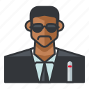 agent, avatar, j, man, profile, user icon