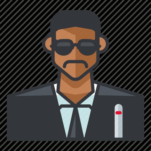 agent, avatar, j, man, profile, user icon