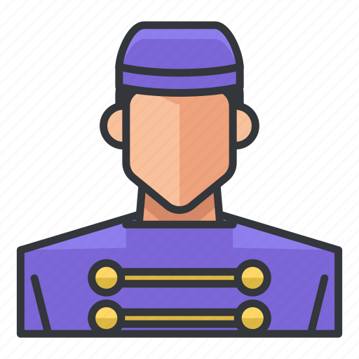 avatar, bell, male, man, profile, service, user icon