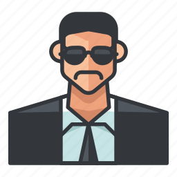 avatar, business, male, man, profile, suit, user icon