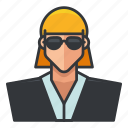 avatar, business, female, profile, user, woman icon