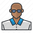 avatar, casual, male, man, profile, user icon