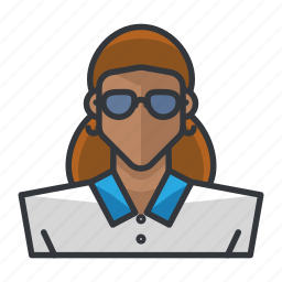 avatar, casual, female, profile, user, woman icon