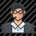 avatar, customer, male, man, profile, service, user