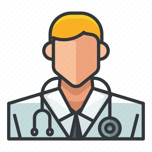 avatar, doctor, male, man, profile, user icon