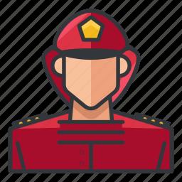 avatar, fighter, fire, male, man, profile, user icon
