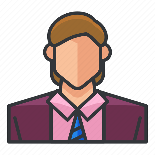 avatar, geeky, man, profile, suit, user icon
