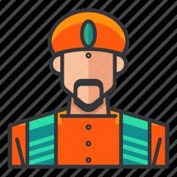 avatar, hindu, male, man, profile, religious, user icon
