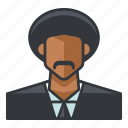 avatar, jules, profile, user, winnfield icon