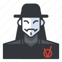 avatar, horror, killer, murderer, profile, user icon