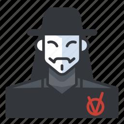 avatar, horror, killer, murderer, profile, user icon