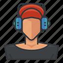 avatar, music, profile, user, woman