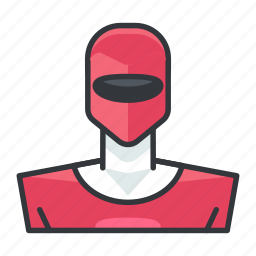 avatar, pink, power, profile, ranger, user icon