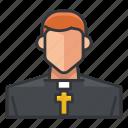 avatar, man, priest, profile, religion, religious, user