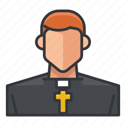 avatar, man, priest, profile, religion, religious, user icon