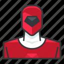 avatar, power, profile, ranger, red, user
