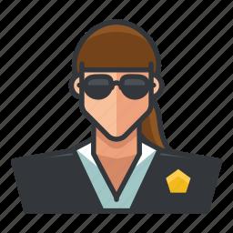 avatar, profile, secret, service, user, woman icon