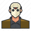 avatar, killer, murderer, profile, serial, user icon