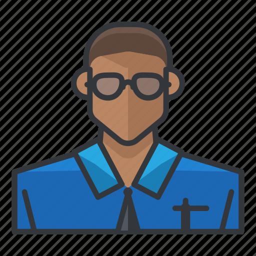 avatar, male, man, profile, technical, user icon